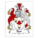 Tom Family Crest Small Poster