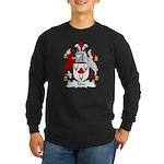 Tom Family Crest Long Sleeve Dark T-Shirt