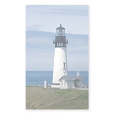Yaquina Lighthouse Rectangle Decal