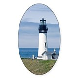 Yaquina Lighthouse Oval Decal