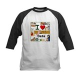 I Love Cats in ASL Tee