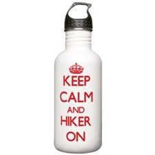 Keep Calm and Hiker ON Water Bottle