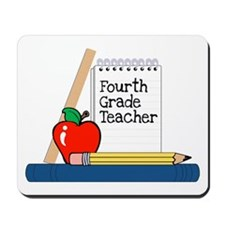 Fourth Grade Teacher (Notebook) Mousepad