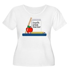 Fourth Grade Teacher (Notebook) T-Shirt
