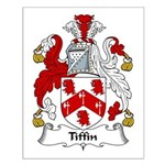 Tiffin Family Crest Small Poster