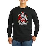 Tiffin Family Crest Long Sleeve Dark T-Shirt