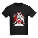 Tiffin Family Crest Kids Dark T-Shirt