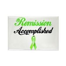 Lymphoma Ribbon Rectangle Magnet (10 pack)