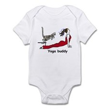 Yoga buddy leap Infant Bodysuit