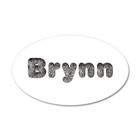Brynn Wolf 20x12 Oval Wall Decal