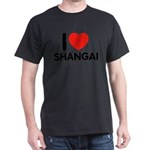 I Love Shangai Dark T-Shirt