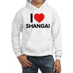 I Love Shangai Hooded Sweatshirt