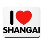 I Love Shangai Mousepad
