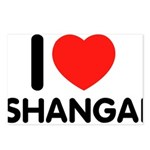 I Love Shangai Postcards (Package of 8)