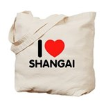 I Love Shangai Tote Bag