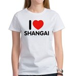 I Love Shangai Women's T-Shirt