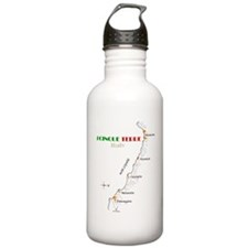 cinque terre, italy Water Bottle