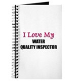 I Love My WATER QUALITY INSPECTOR Journal