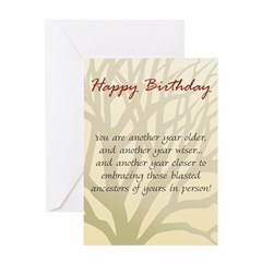 Meet Ancestors Birthday Card