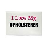 I Love My UPHOLSTERER Rectangle Magnet (10 pack)