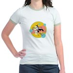 Retro Witch Jr. Ringer T-Shirt
