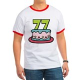 77 Year Old Birthday Cake T