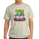 73 Year Old Birthday Cake T-Shirt