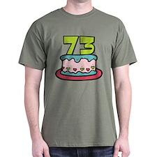 73 Year Old Birthday Cake T-Shirt