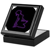 Silhouette: Blacklight Keepsake Box