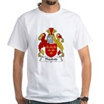 Theobald Family Crest White T-Shirt