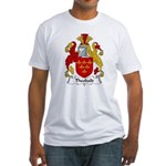 Theobald Family Crest  Fitted T-Shirt