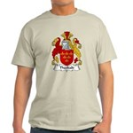 Theobald Family Crest Light T-Shirt