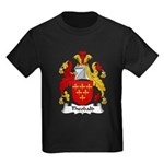 Theobald Family Crest Kids Dark T-Shirt