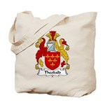 Theobald Family Crest Tote Bag