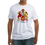 Thaker Family Crest  Fitted T-Shirt