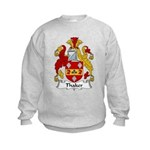 Thaker Family Crest Kids Sweatshirt