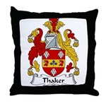 Thaker Family Crest Throw Pillow