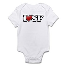 Classic I Heart SF Infant Bodysuit