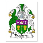 Thackeray Family Crest Small Poster