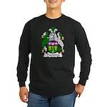 Thackeray Family Crest Long Sleeve Dark T-Shirt
