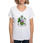 Thackeray Family Crest Women's V-Neck T-Shirt