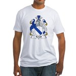 Terrell Family Crest Fitted T-Shirt