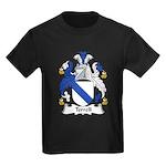Terrell Family Crest Kids Dark T-Shirt