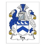 Tay Family Crest Small Poster