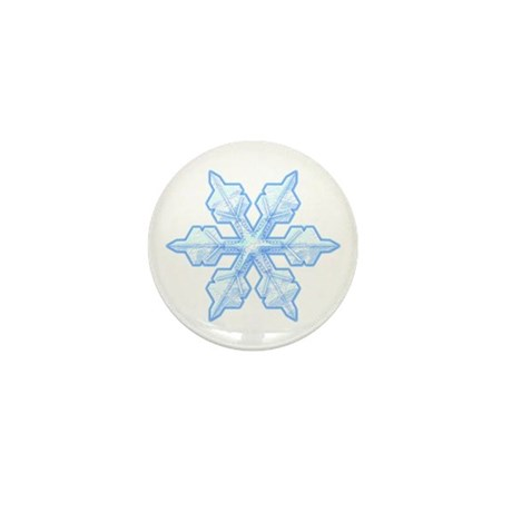 Flurry Snowflake VI Mini Button (100 pack)