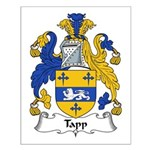 Tapp Family Crest Small Poster
