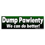 Dump Tim Pawlenty Bumper Sticker