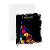 i dance Greeting Card