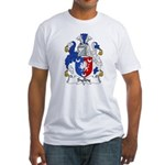 Sylby Family Crest Fitted T-Shirt