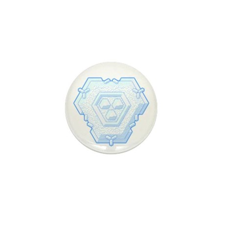 Flurry Snowflake IV Mini Button (100 pack)